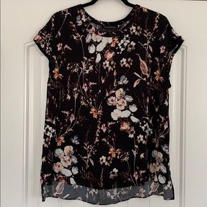 Banana Republic Silk Floral Blouse